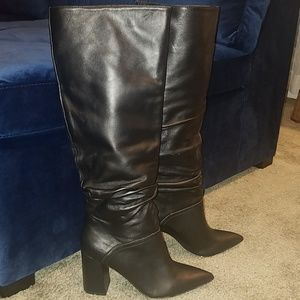 NWOT Steve Madden Leather Boots